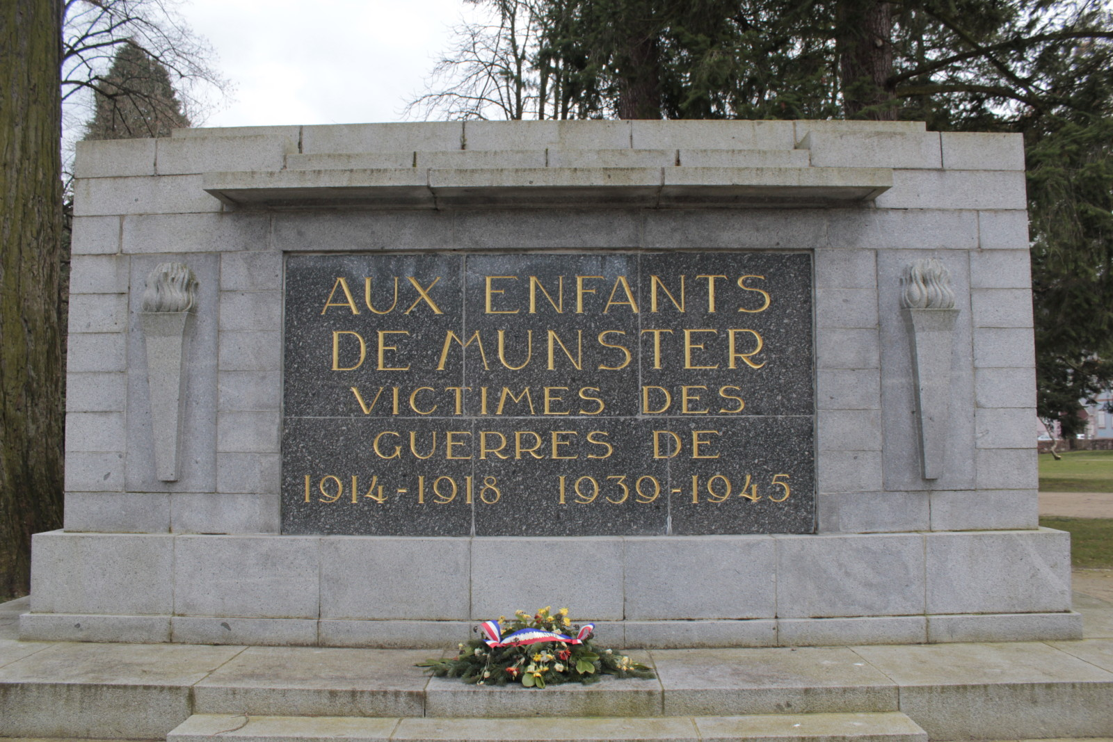 Le monument aux morts de Munster